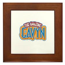 The Amazing Gavyn Framed Tile