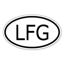 LFG Oval Decal