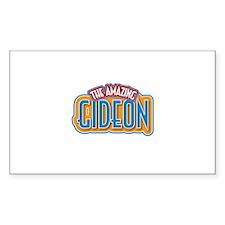 The Amazing Gideon Decal