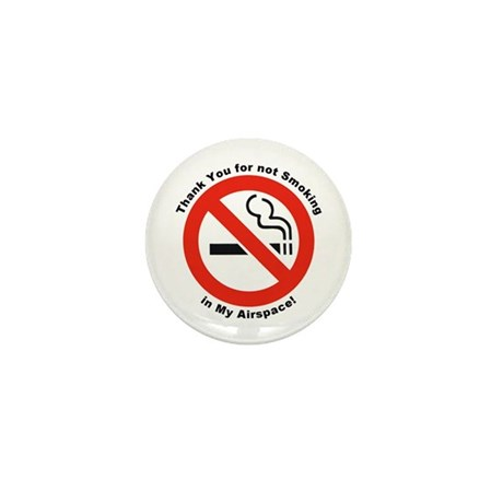 Please Don't Smoke Mini Button (10 pack)