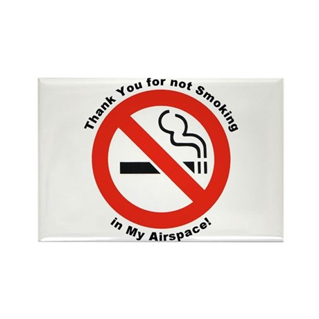 Please Don't Smoke Rectangle Magnet