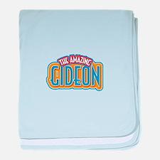The Amazing Gideon baby blanket