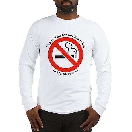 Please Don't Smoke Long Sleeve T-Shirt