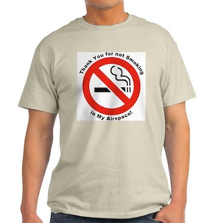 Please Don't Smoke Ash Grey T-Shirt