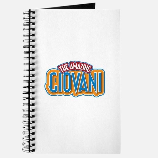 The Amazing Giovani Journal