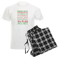 Christmas Subway Art Pajamas