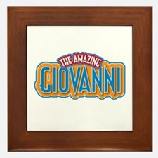 The Amazing Giovanni Framed Tile