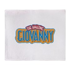 The Amazing Giovanny Throw Blanket