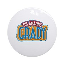 The Amazing Grady Ornament (Round)