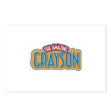 The Amazing Grayson Postcards (Package of 8)