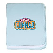 The Amazing Gunnar baby blanket