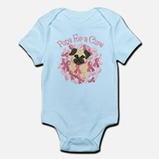Pugs For A Cure Breast Cancer Pug Body Suit