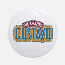 The Amazing Gustavo Ornament (Round)
