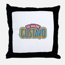 The Amazing Gustavo Throw Pillow