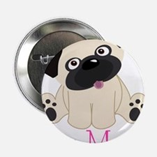 "Pug Mom 2.25"" Button"