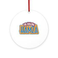 The Amazing Hamza Ornament (Round)