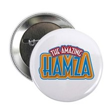 "The Amazing Hamza 2.25"" Button"