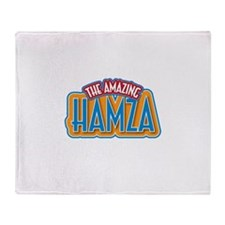 The Amazing Hamza Throw Blanket