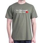 My Husband is a Hottie! Dark T-Shirt
