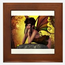 Autumn Fae Framed Tile