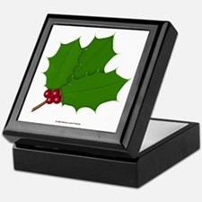 Christmas Holly-days Keepsake Box