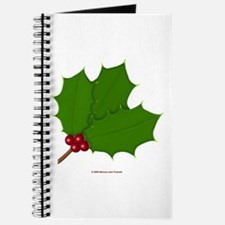 Christmas Holly-days Journal
