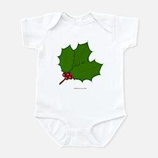 Christmas Holly-days Infant Bodysuit