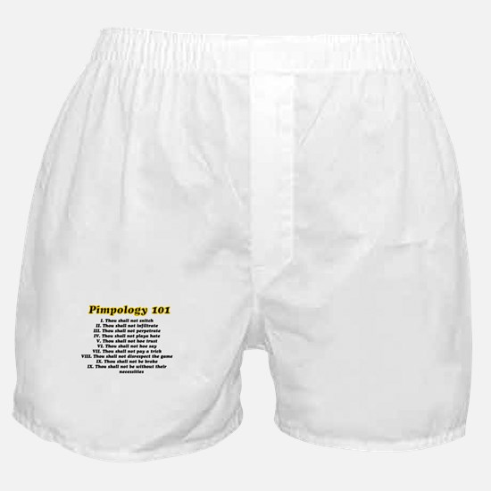 Funny Pimped Boxer Shorts