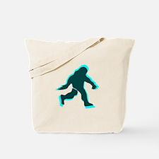 Bigfoot shadow Tote Bag
