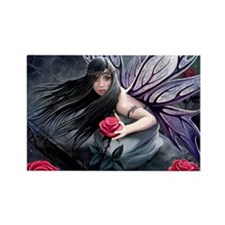 Rose Fairy Rectangle Magnet