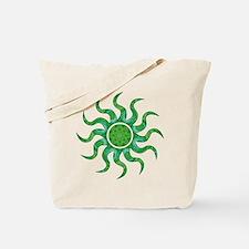 Wild Sun Christmas Tote Bag