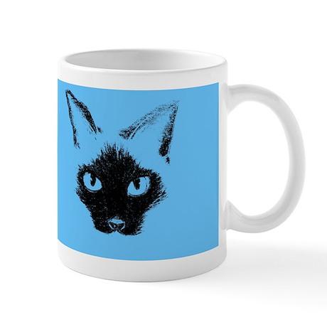 Blue Siamese Mug