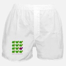 Dare to be Different Turtles Boxer Shorts