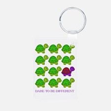 Dare to be Different Turtles Keychains