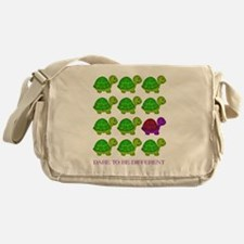 Dare to be Different Turtles Messenger Bag