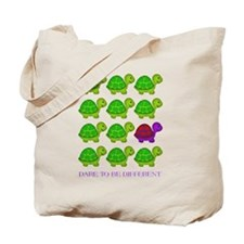 Dare to be Different Turtles Tote Bag