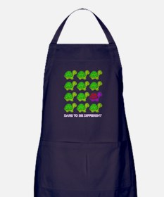 Dare to be Different Turtles Apron (dark)