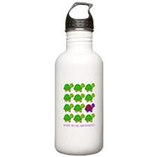 Dare to be Different Turtles Water Bottle