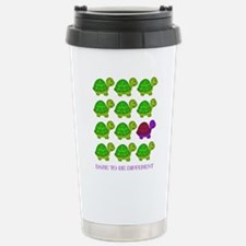 Dare to be Different Turtles Travel Mug