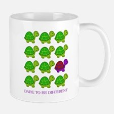 Dare to be Different Turtles Small Small Mug