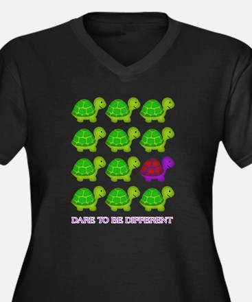 Dare to be Different Turtles Plus Size T-Shirt