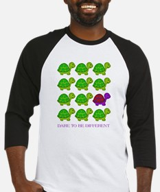Dare to be Different Turtles Baseball Jersey