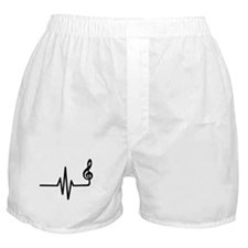 Frequency music note Boxer Shorts