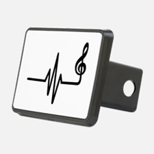Frequency music note Hitch Cover