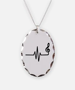 Frequency music note Necklace