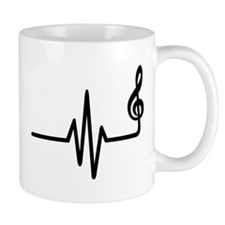 Frequency music note Mug