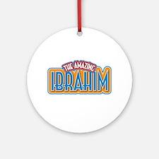 The Amazing Ibrahim Ornament (Round)