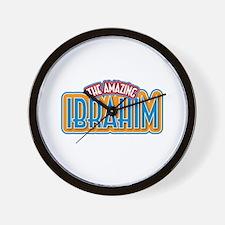 The Amazing Ibrahim Wall Clock