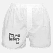 Pros Before Hos Boxer Shorts
