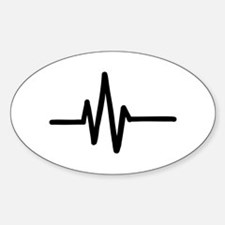 Frequency pulse beat Decal